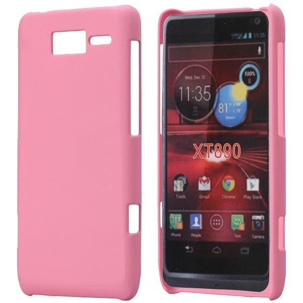 Hard Shell Vaaleanpunainen Motorola Razr I Suojakuori