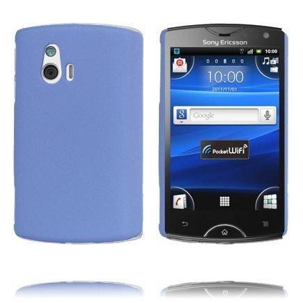 Hard Shell Vaaleansininen Sony Ericsson Xperia Mini Suojakuori