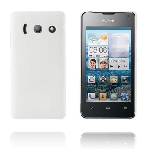 Hard Shell Valkoinen Huawei Ascend Y300 Suojakuori
