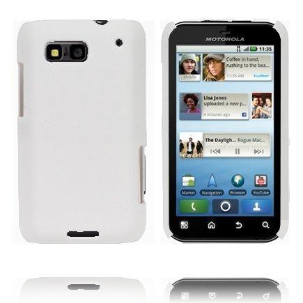Hard Shell Valkoinen Motorola Defy Suojakuori