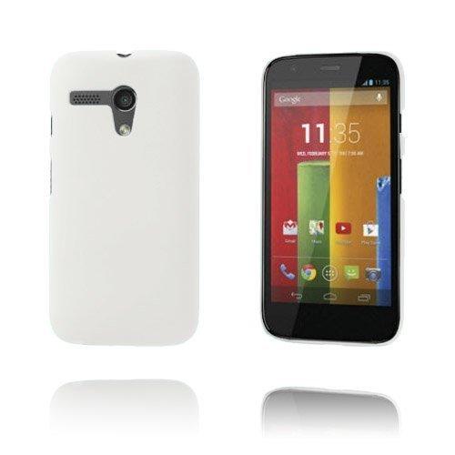 Hard Shell Valkoinen Motorola Moto G Suojakuori