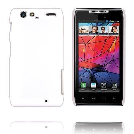 Hard Shell Valkoinen Motorola Razr Suojakuori