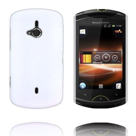 Hard Shell Valkoinen Sony Ericsson Live Suojakuori