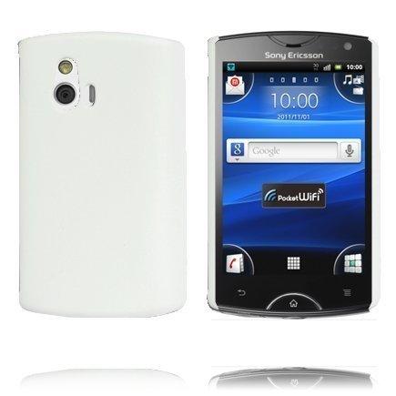 Hard Shell Valkoinen Sony Ericsson Xperia Mini Suojakuori