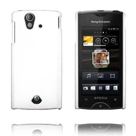 Hard Shell Valkoinen Sony Ericsson Xperia Ray Suojakuori
