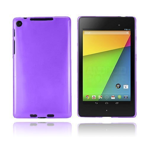 Hard Shell Violetti Google Nexus 7 Ii Suojakuori