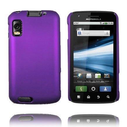 Hard Shell Violetti Motorola Atrix 4g Suojakuori