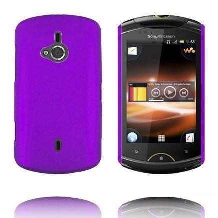 Hard Shell Violetti Sony Ericsson Live Suojakuori