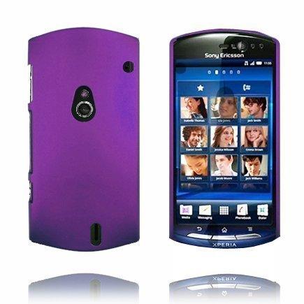 Hard Shell Violetti Sony Ericsson Xperia Neo Suojakuori