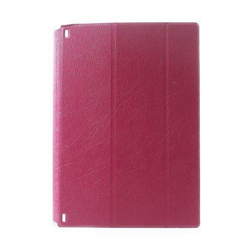 Hazel Lines Lenovo Yoga Tablet 2 10.1 Nahkakotelo Kuuma Pinkki