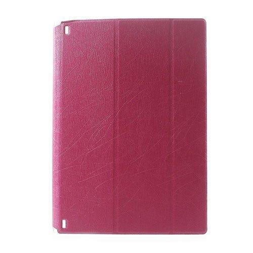 Hazel Lines Lenovo Yoga Tablet 2 8.0 Nahkakotelo Kuuma Pinkki