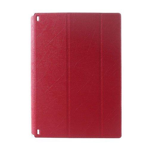 Hazel Lines Lenovo Yoga Tablet 2 8.0 Nahkakotelo Punainen