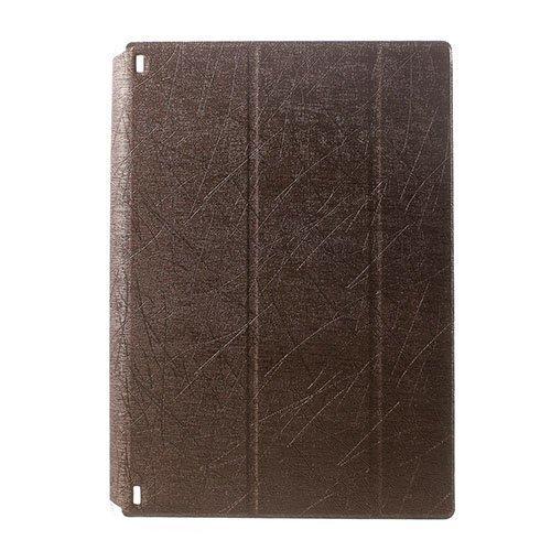 Hazel Lines Lenovo Yoga Tablet 2 8.0 Nahkakotelo Ruskea