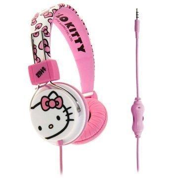 Hello Kitty HK0078 Bubblebow Stereokuulokkeet Vaalenapunainen