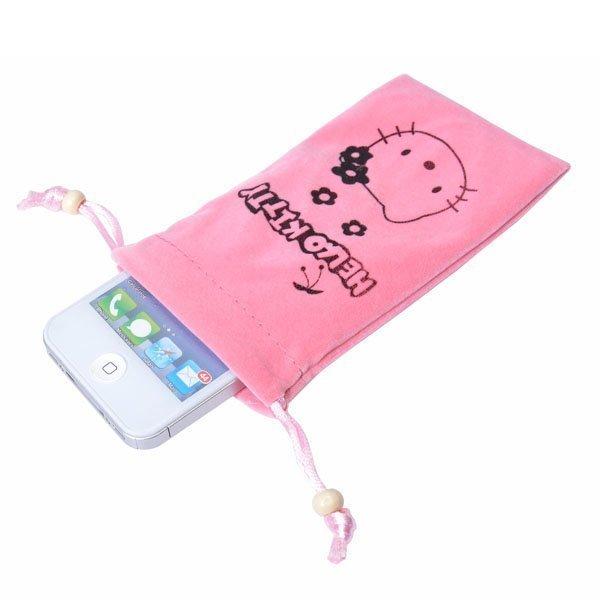Hello Kitty Puhelinpussi Vaaleanpunainen