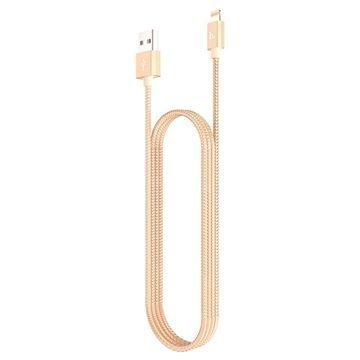 Hoco UPF01 MFi Sertifioitu Lightning / USB-Kaapeli iPhone iPad iPod Kulta