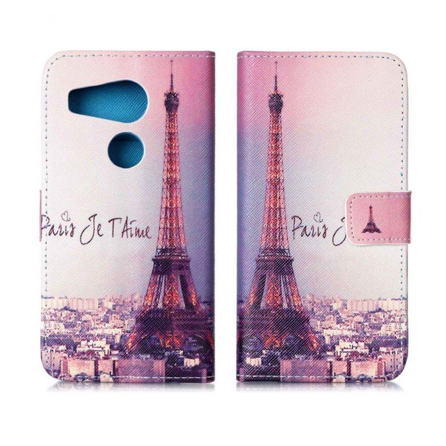 Holberg Google Nexus 5x Nahkakotelo Pariisin Eiffel Torni