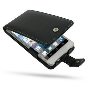 Huawei Ascend D2 PDair Leather Case 3BHWD2F41 Musta