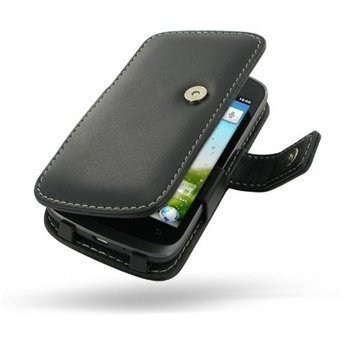 Huawei Ascend G300 PDair Leather Case 3BHWG3B41 Musta