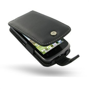 Huawei Ascend G300 PDair Leather Case 3BHWG3F41 Musta