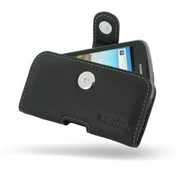 Huawei Ascend G300 PDair Leather Case 3BHWG3P01 Musta