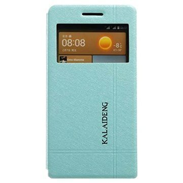 Huawei Ascend G6 Kalaideng Iceland II Flip Leather Case Blue