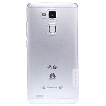 Huawei Ascend Mate7 Nillkin Nature TPU Suojakuori Valkoinen