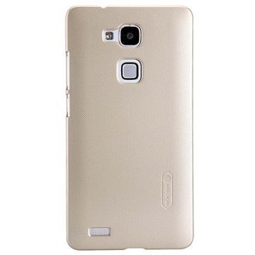 Huawei Ascend Mate7 Nillkin Super Frosted Shield Suojakotelo Samppanja Kulta