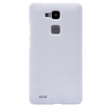 Huawei Ascend Mate7 Nillkin Super Frosted Shield Suojakotelo Valkoinen