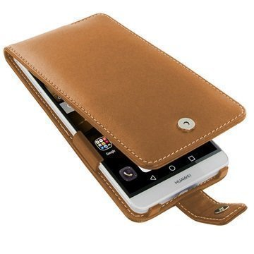 Huawei Ascend Mate7 PDair Leather Case 3THWM7FX1 Ruskea
