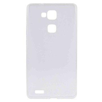 Huawei Ascend Mate7 Tuff-Luv TPU Gel Suojakuori Kirkas
