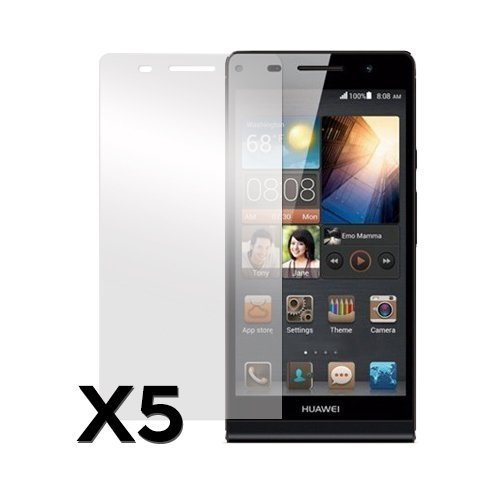 Huawei Ascend P6 Näytön Suojakalvo 5 Kpl