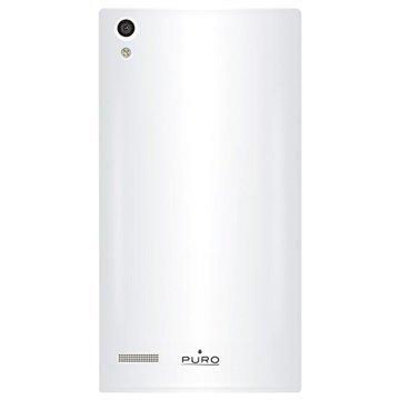 Huawei Ascend P6 Puro Silikonikuori Valkoinen