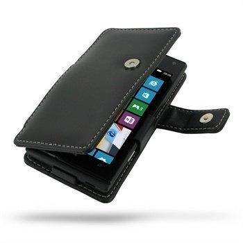 Huawei Ascend W1 PDair Leather Case 3BHWAWB41 Musta