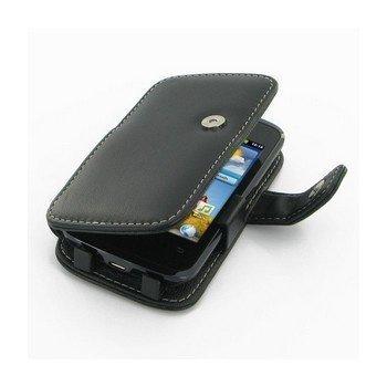 Huawei Ascend Y200 PDair Leather Case 3BHWY2B41 Musta