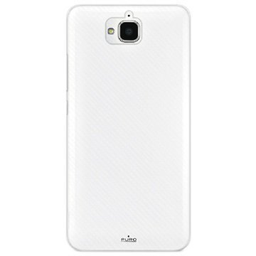 Huawei Enjoy 5 / Y6 Pro Puro Flexible Silicone Case Transparent