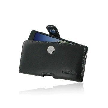 Huawei Holly 3 Honor 5A PDair Vaakasuuntainen Nahkakotelo Musta