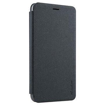Huawei Honor 4A Nillkin Sparkle Series Läppäkotelo Musta