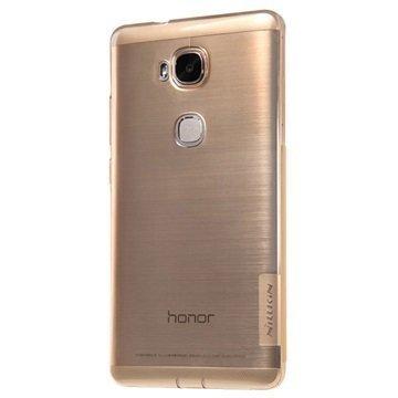 Huawei Honor 5X Nillkin Nature TPU Suojakuori Ruskea