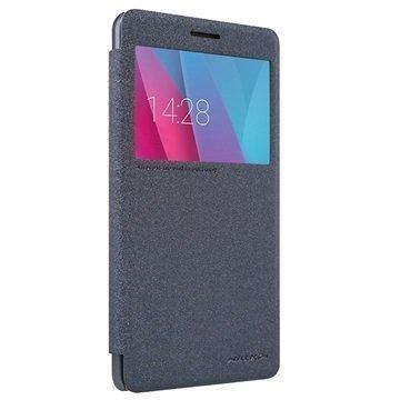 Huawei Honor 5X Nillkin Sparkle Series Smart View Läppäkotelo Musta