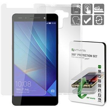 Huawei Honor 7 4smarts 360 Suojaussetti Läpinäkyvä