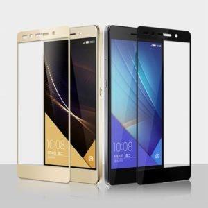 Huawei Honor 7 / 7 Premium Panssarilasi 2.5d Full Cover Valkoinen