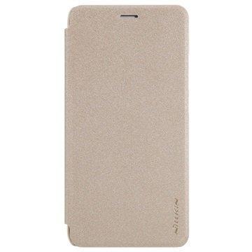 Huawei Honor 7 Lite Honor 5c Nillkin Sparkle Läppäkotelo Kulta