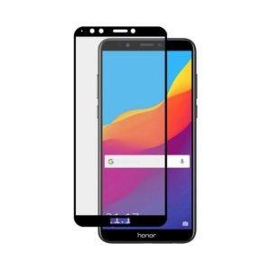 Huawei Honor 7c Panssarilasi 2.5d Full Cover Musta