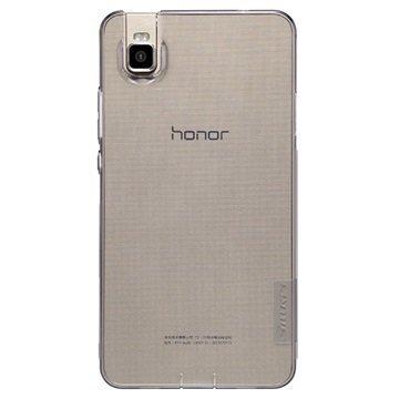 Huawei Honor 7i Nillkin Nature TPU Suojakuori Harmaa