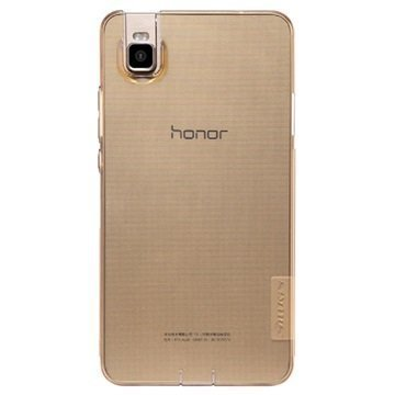 Huawei Honor 7i Nillkin Nature TPU Suojakuori Ruskea