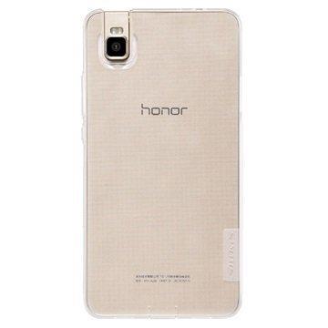 Huawei Honor 7i Nillkin Nature TPU Suojakuori Valkoinen