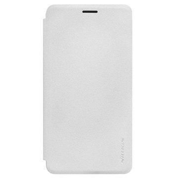Huawei Honor 7i Nillkin Sparkle Sarjan Läppäkotelo Valkoinen
