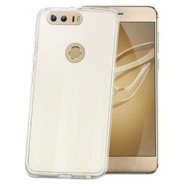 Huawei Honor 8 Celly Gelskin TPU Suojakuori Läpinäkyvä