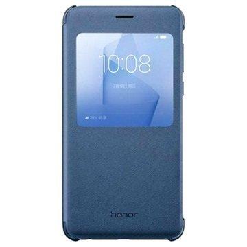 Huawei Honor 8 Ikkunallinen Suojakotelo Sininen